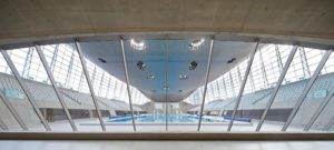 London Aquatic centre Zaha Hadid