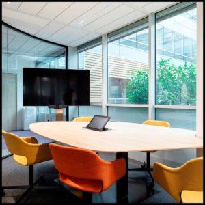 Lab aménagement espace de bureaux natixis